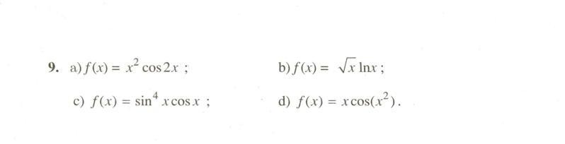 Một số phương pháp tìm nguyên hàm
